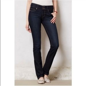 PAIGE 'Hidden Hills' Straight Leg Stretch Jeans